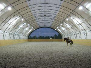 Rijhal Düsseldorf Stallbeleuchtung Pferde Stalverlichting Paarden d'éclairage Équin barn lighting Horses